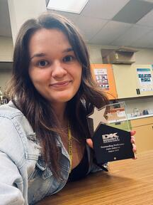 Amira Selimovic DK Security Outstanding Performer