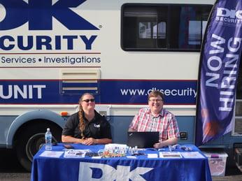 DK Security Mobile Career Fair Kentwood Farmers Market