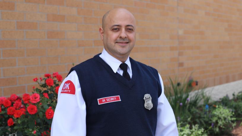 DK Security Employee Spotlight Lansing Michigan Ziad Al Omar