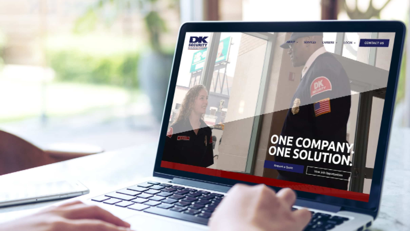 DK Security New Website Security Services Request a Quote Contact Us